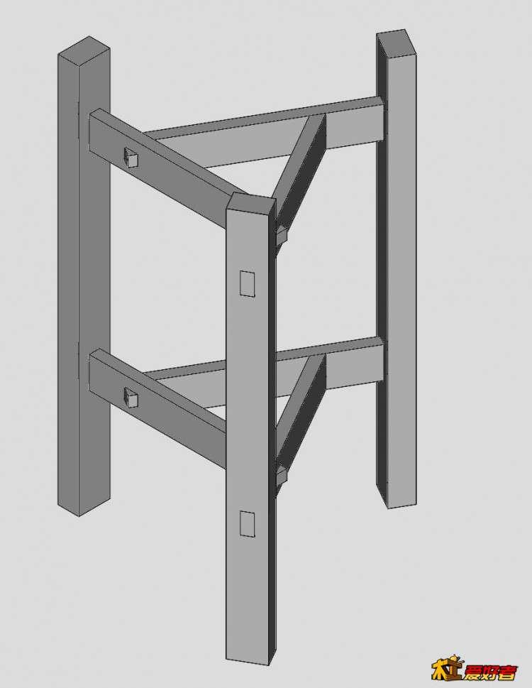 学做一个三角盆架